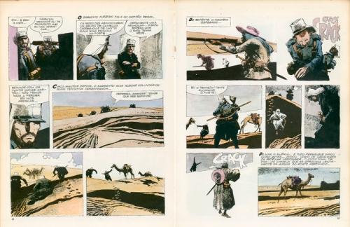 O Homem da Legião. Dino Battaglia, 1976.